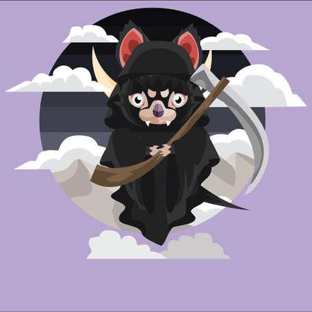 grim: tasmanian devil grim reaper