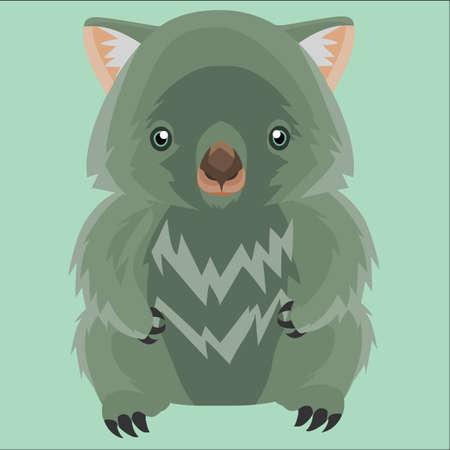 wombat: carácter wombat