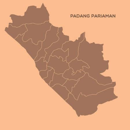 map of padang pariaman