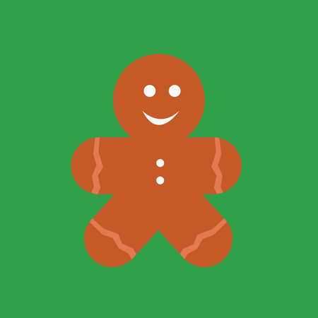 gingerbread person: gingerbread man cookie