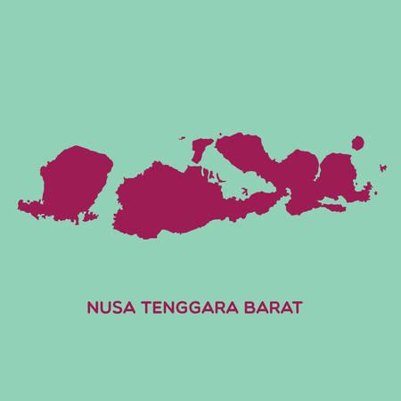 nusa: map of nusa tenggara barat