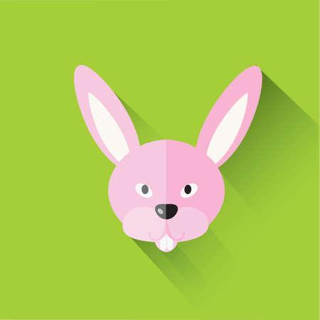 asian bunny: chinese zodiac of a rabbit
