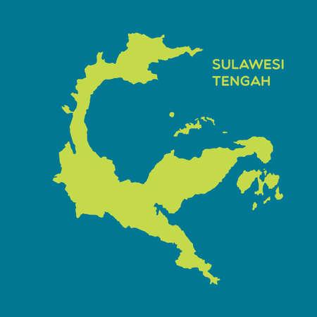 map of sulawesi tengah