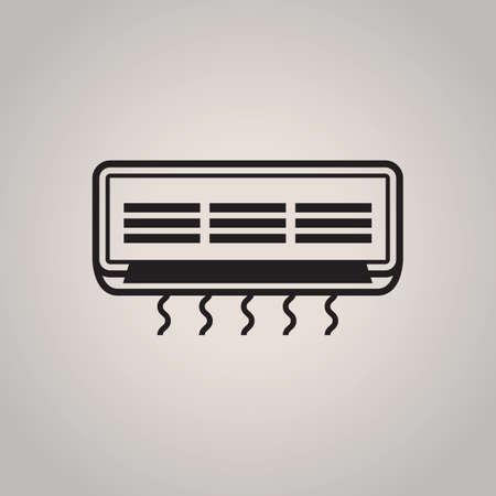 air conditioner: air conditioner Illustration
