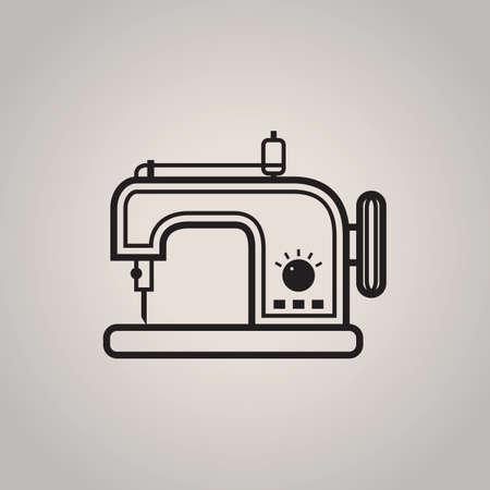 naaimachine Vector Illustratie