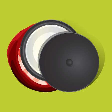 lids: pot with lid Illustration