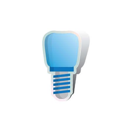 false: screw on false denture
