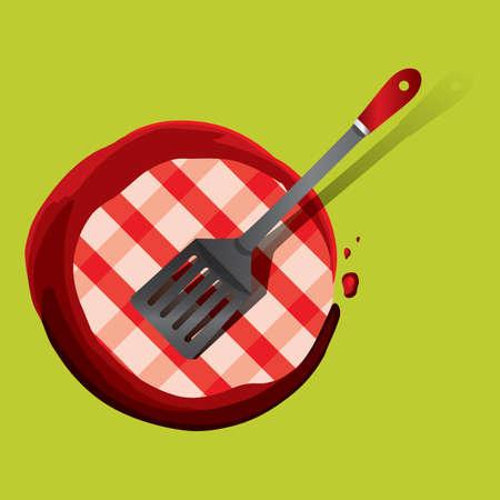 turning: turning spatula