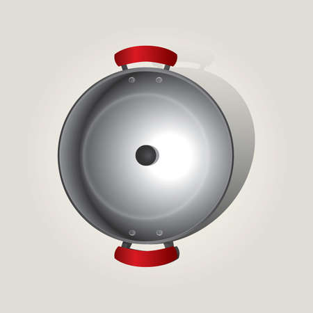 cooking pot: cooking pot Illustration