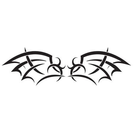 Conception de tatouage tribal Banque d'images - 52652684