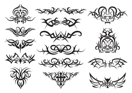 Conception de tatouage tribal Banque d'images - 52653191