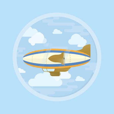 airship: airship Illustration
