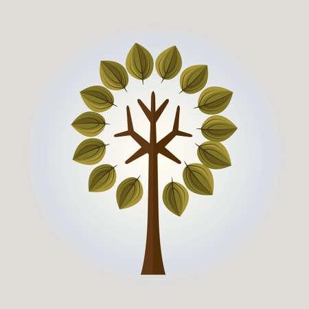 stylized tree Stock Vector - 52653298