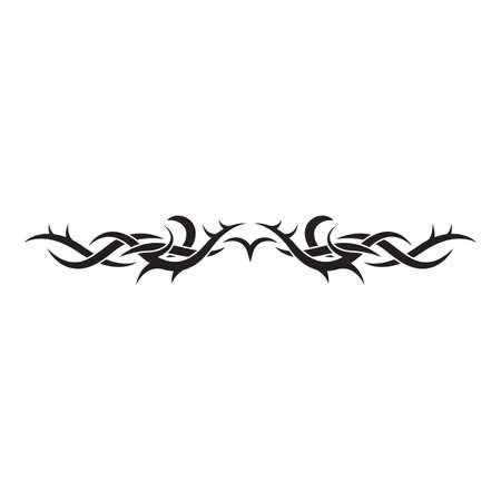 Conception de tatouage tribal Banque d'images - 52653317