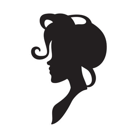 lady silhouette: silhouette of a woman