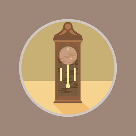 grandfather clock: grandfather clock