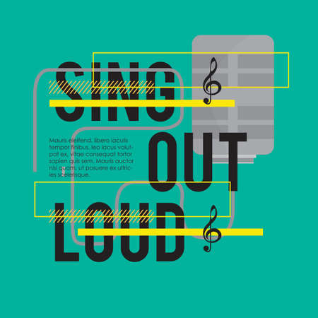 loud: sing out loud quote