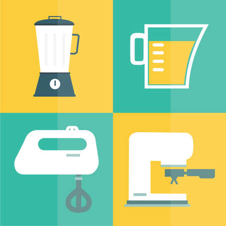 appliances: kitchen appliances Illustration