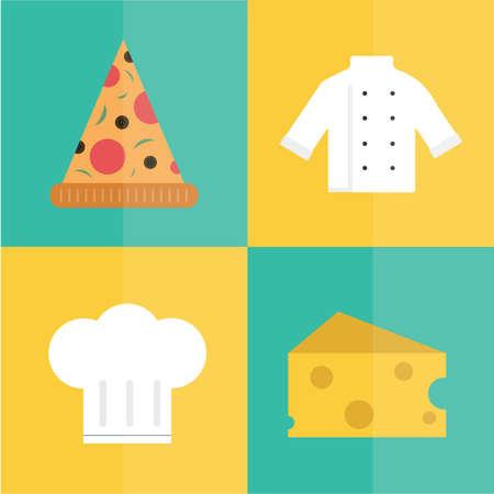 kulinarne: ikony kulinarne Ilustracja