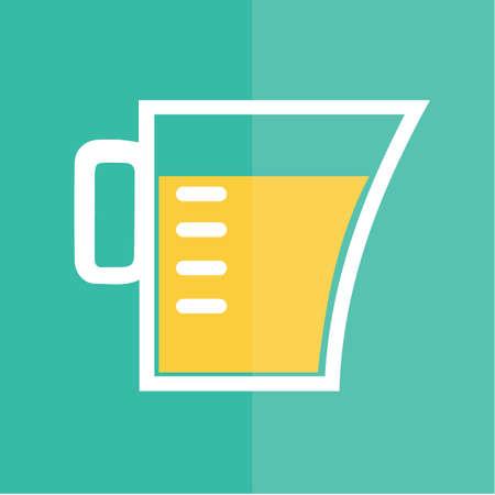 jug: measuring jug Illustration