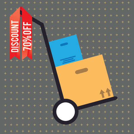 hand truck: hand truck with parcel box