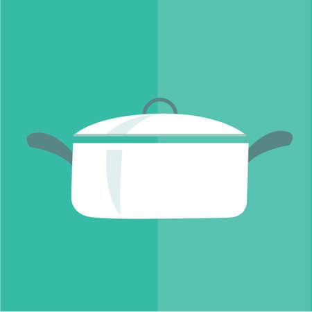 lids: cooking pot Illustration