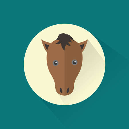 manes: horse