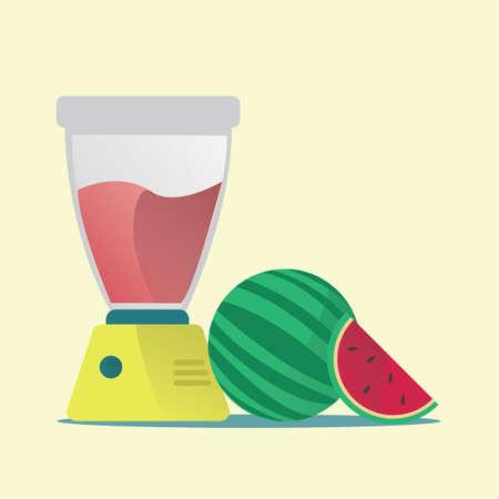 blended: watermelon juice