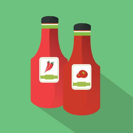 sauces: sauces Illustration