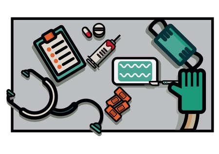 equipment: medical equipment Illustration