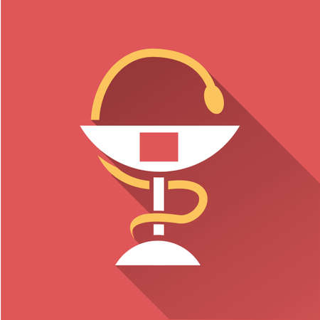 caduceus medical symbol: caduceus medical symbol Illustration