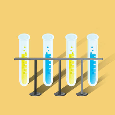test tubes: test tubes in rack