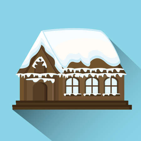 christmas house: christmas house Illustration