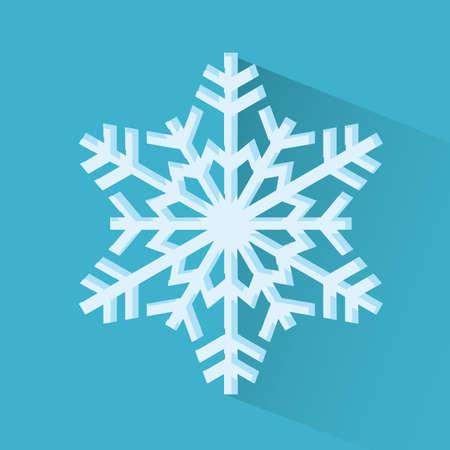 x   mas: snowflakes Illustration