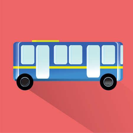 wheeler: bus Illustration