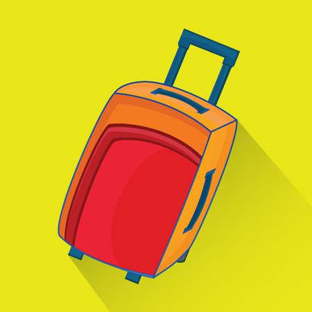 are modern: modern suitcase