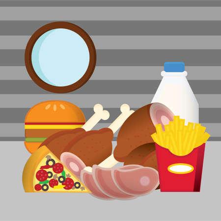 food: junk food