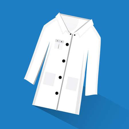 lab coat: lab coat