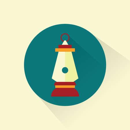 kerosene: kerosene lamp