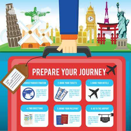 journey infographic