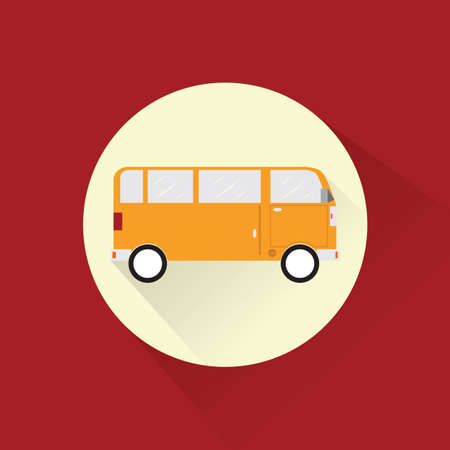 roadtrip: bus Illustration