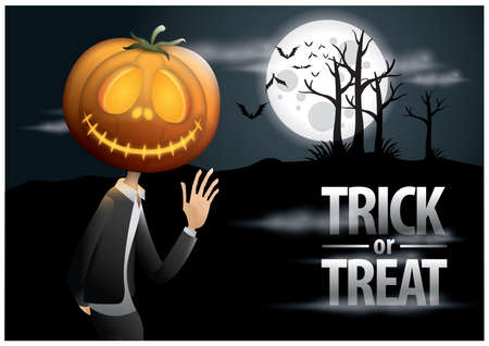 trick: trick or treat halloween poster