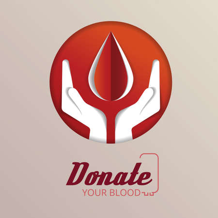 humanitarian: blood donation concept