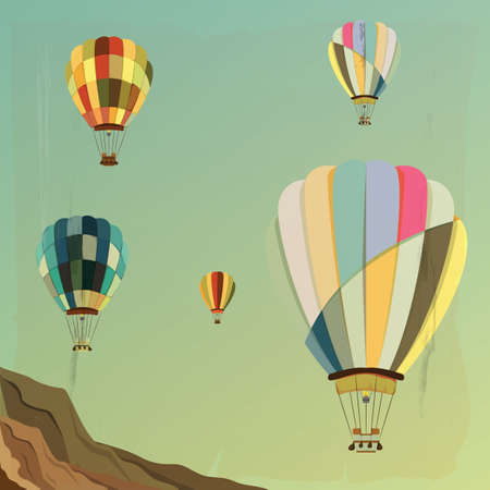 hot air: hot air balloons