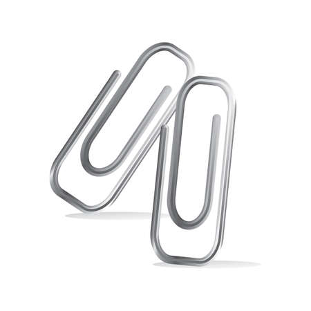 paper clips: paper clips Illustration