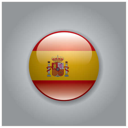 national identity: spain flag Illustration
