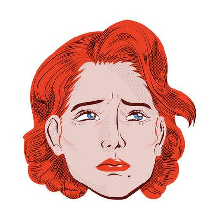 feeling: woman feeling sad