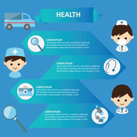 Gesundheit Infografik