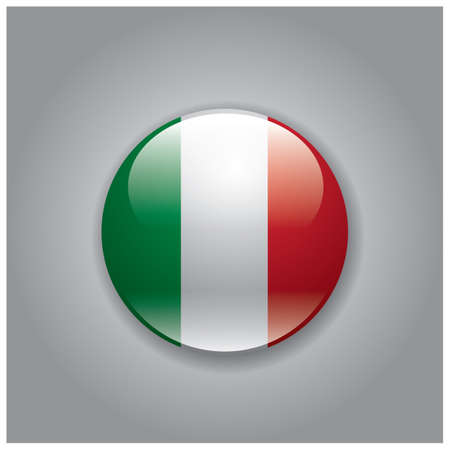national identity: italy flag Illustration