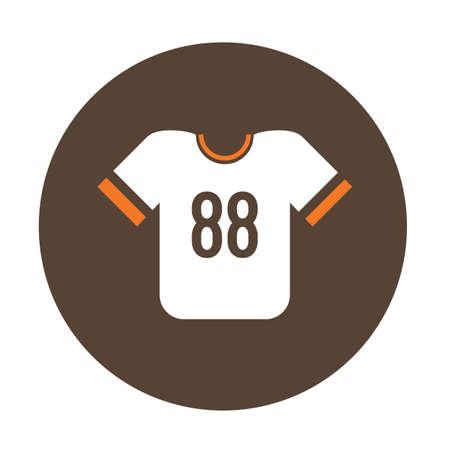 football jersey: american football jersey Illustration